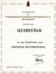 quimivisa - publicaciones de comercio internacional